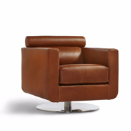 Picture of BARLETTA SWIVEL CHAIR, METAL BASE
