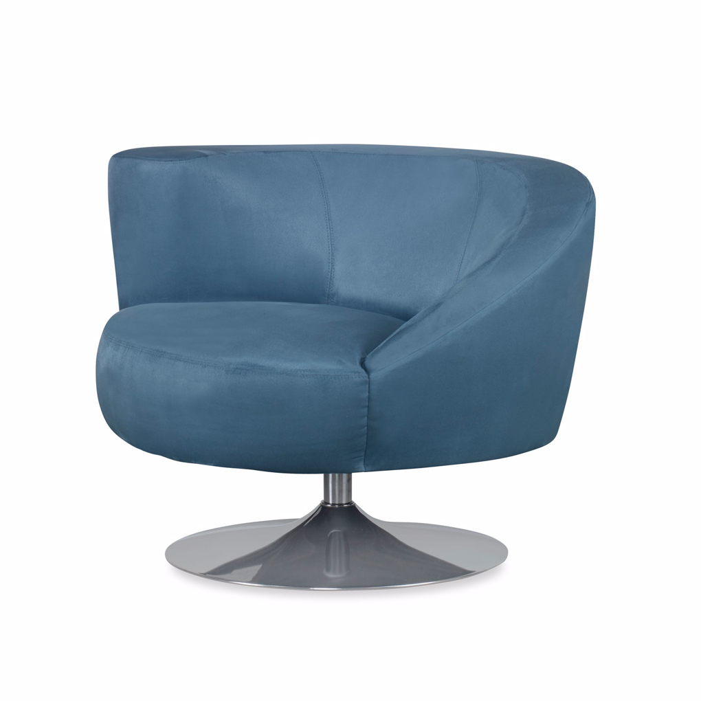 Picture of SPIRAL SWIVEL CHAIRW\METAL BASE -LAF
