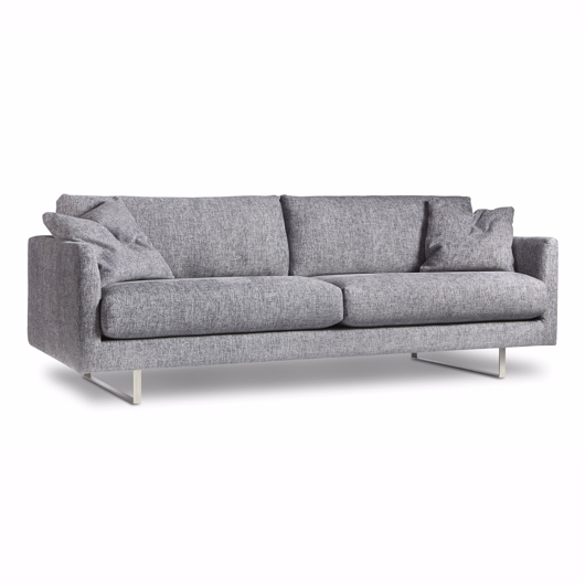 "Picture of CLARICE SOFA, W/2-18"" FF TOSS, NON REVERSIBLE SEATS"