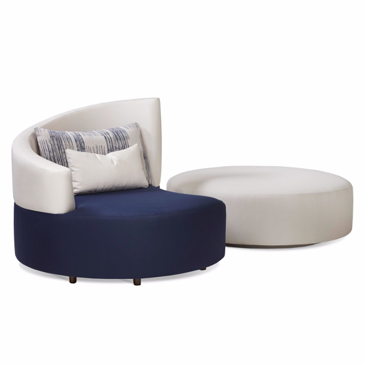 Picture of SIAMESE LAF TWIN LOUNGE CHAIR