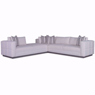 Picture of Nathan 3pc Sectional - Platinum Collection